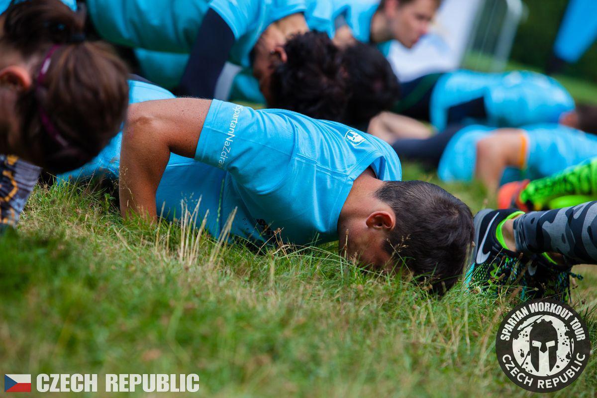 Spartan Race Workout Tour Plzeň