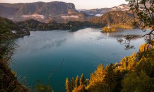 Slovinsko: Bled a Bohinj