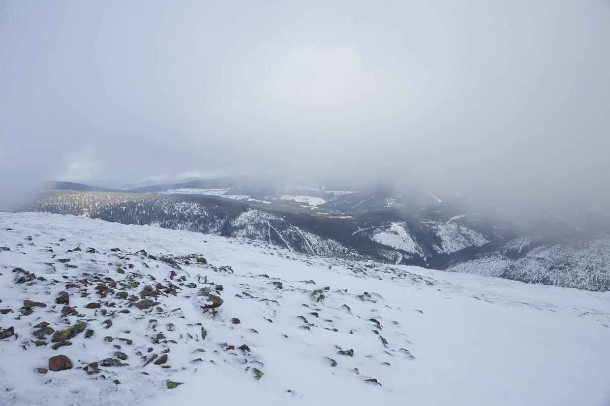 Výlet na Sněžku, kam jsme vyrazili z Pece pod Sněžkou