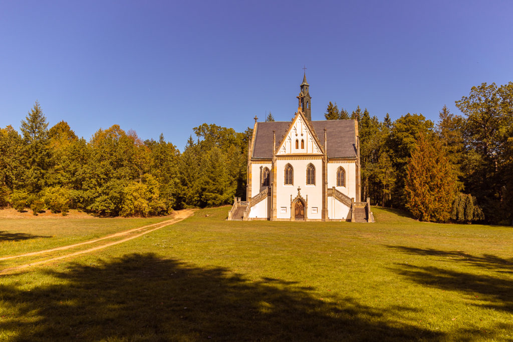 Schwarzenberská hrobka Orlík nad Vltavou