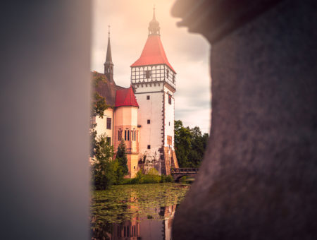 Daňci na zámku Blatná
