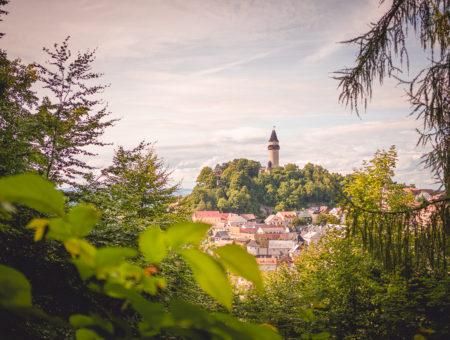 Hrad Štramberk a procházka městem